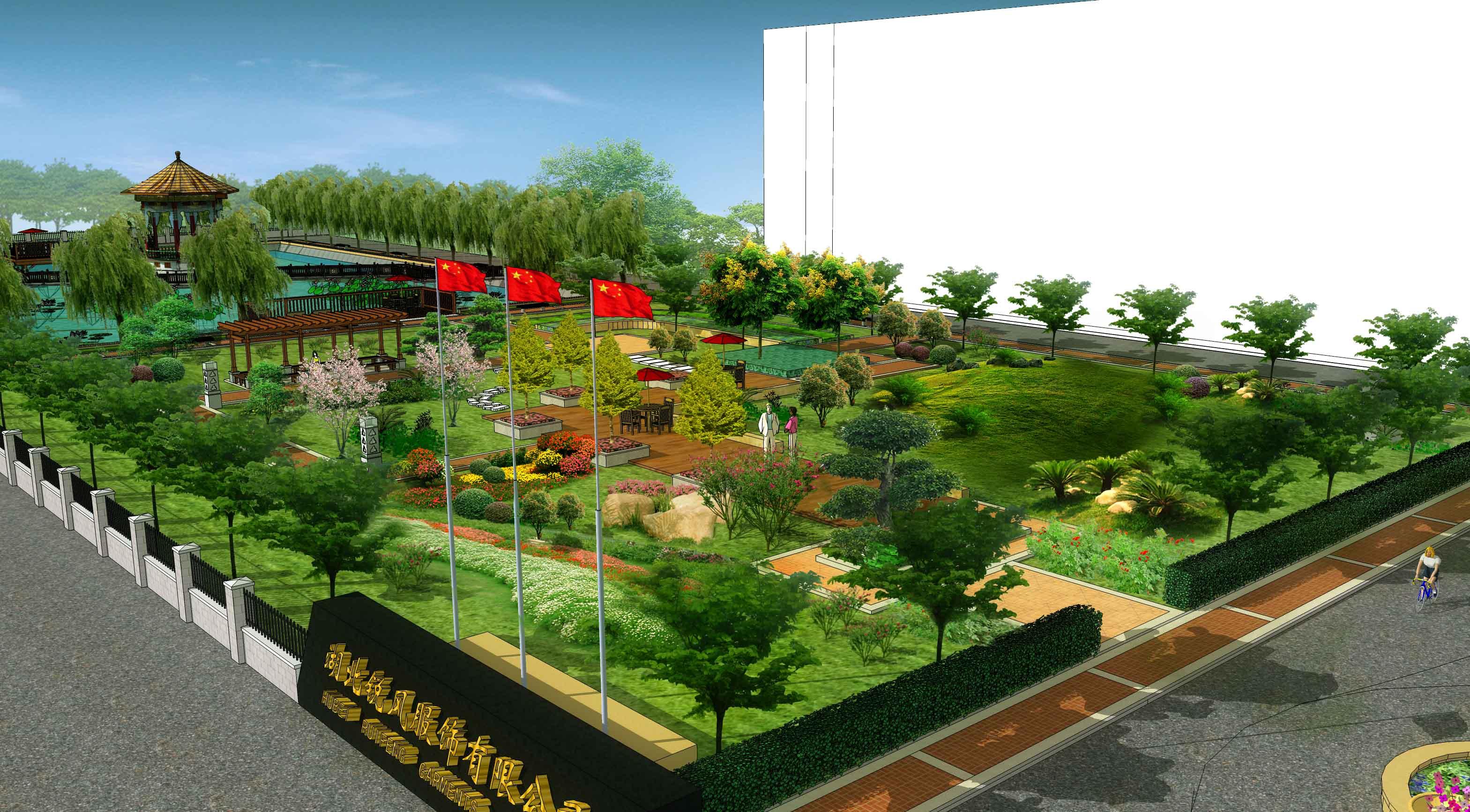 工程案例-武漢亞景園林景觀工程設計有限公司